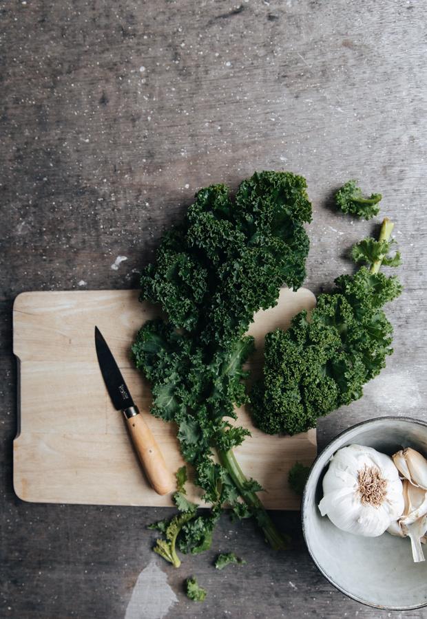 Sausage & kale orecchiette | These Four Walls blog