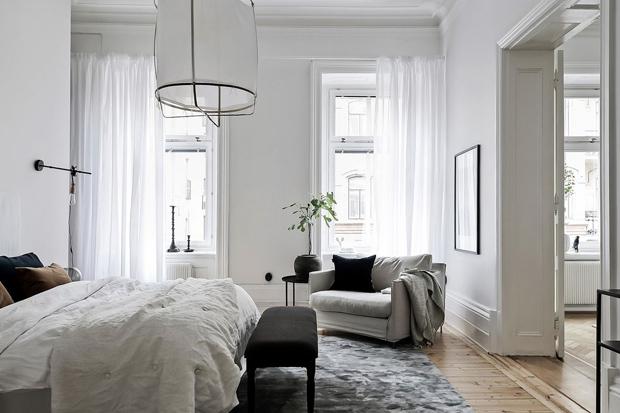 Home tour | A glamorous Gothenburg apartment | These Four Walls blog