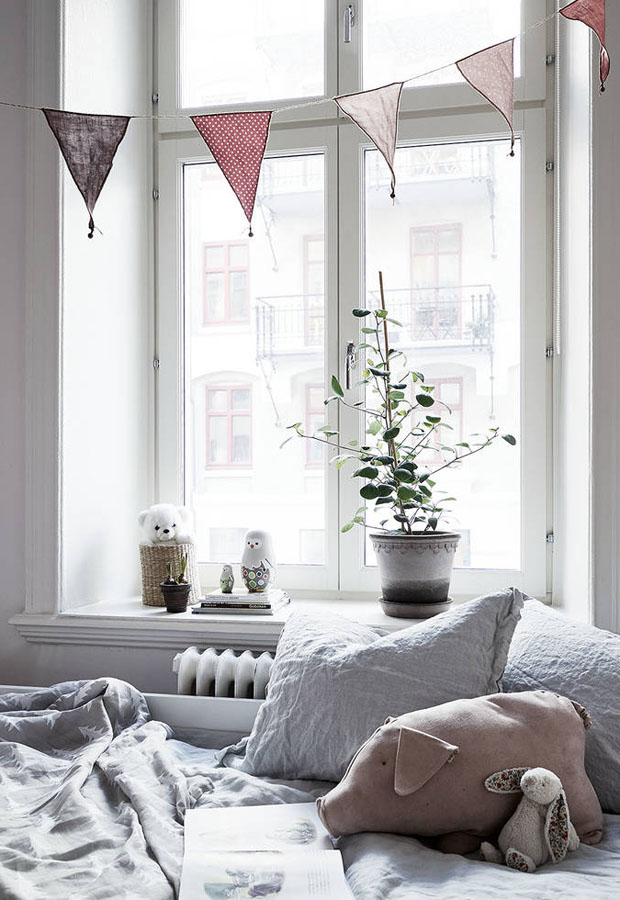 Home tour | A texture-filled Gothenburg apartment | These Four Walls blog