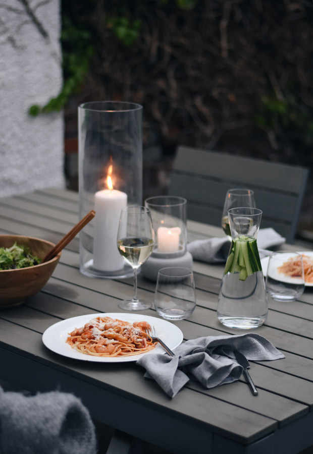 Alfresco summer dining with The White Company | These Four Walls blog