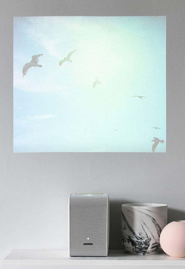 The Sony 'LSPX-P1' portable ultra-short-throw projector | Six of the best home-entertainment gadgets for minimalists | These Four Walls blog