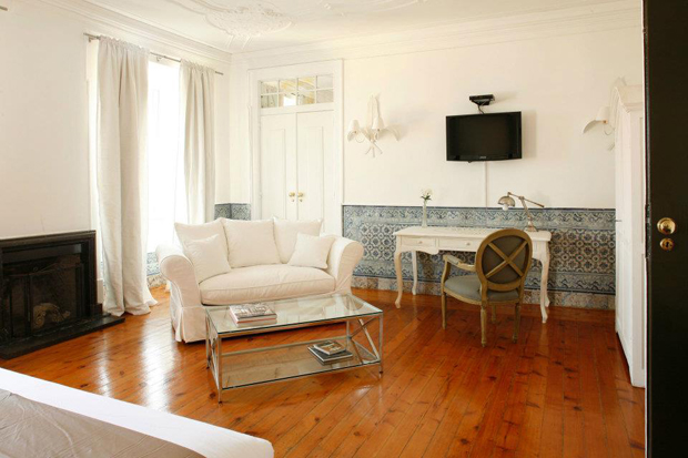 Palacio Ramalhete | Five stylish places to stay in Lisbon | These Four Walls blog