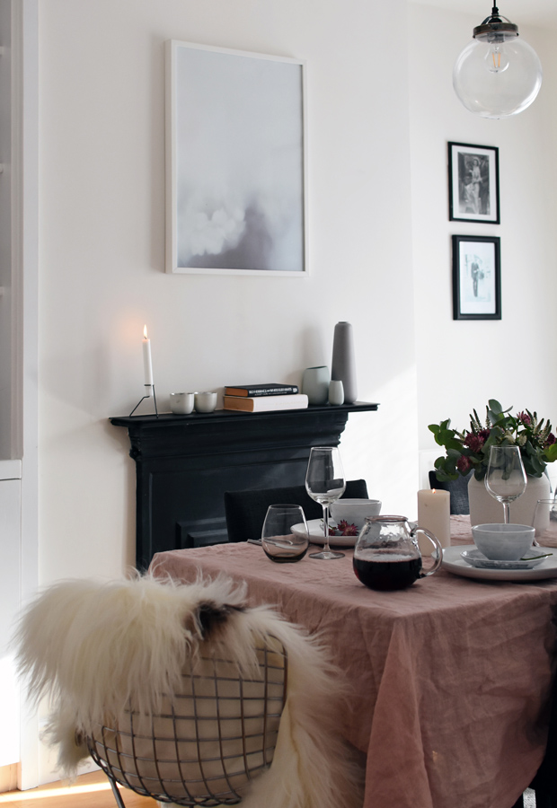 Styling An Autumn Table With Rose U0026 Grey | These Four Walls Blog