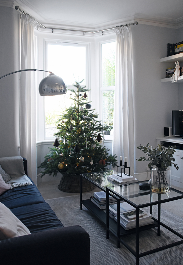 Christmas styling with Rose & Grey | Part 2 - natural greenery | These Four Walls blog