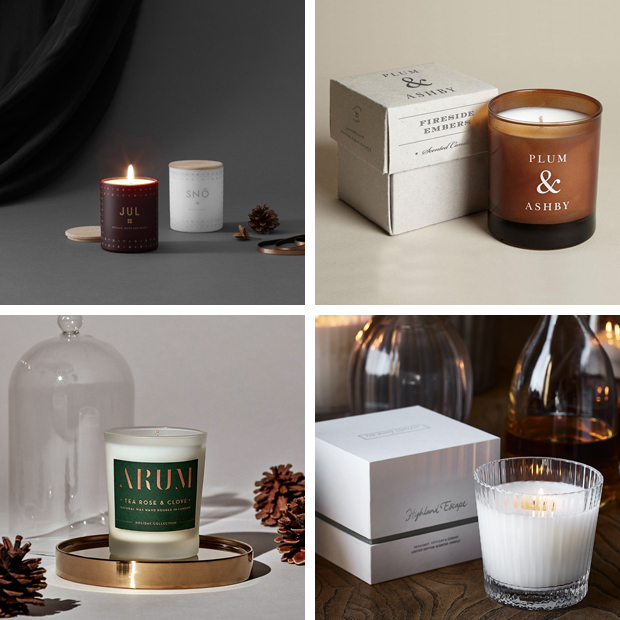 The best Christmas scented candles - something a little different | These Four Walls blog