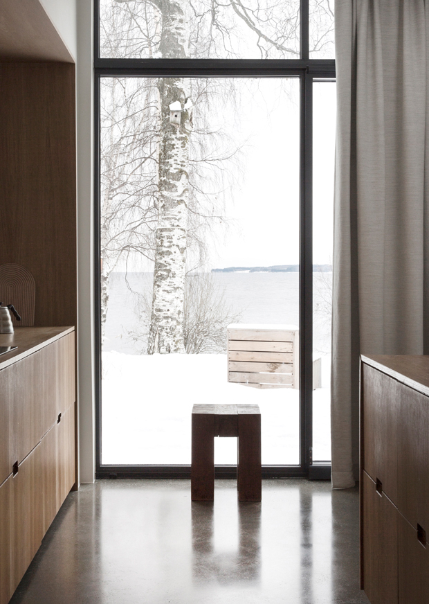 A minimalist house by a Norwegian lake   These Four Walls blog