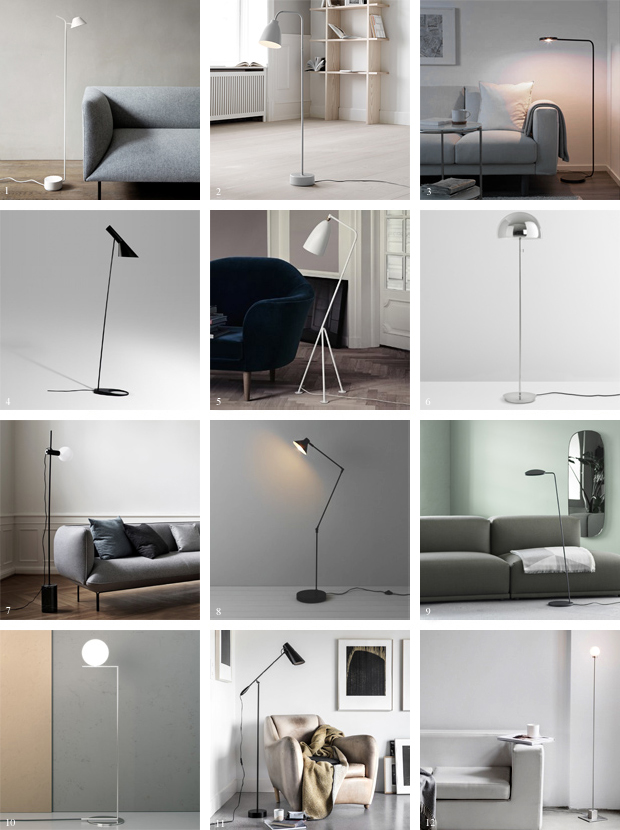 12 Of The Best Minimalist Floor Lamps These Four Walls