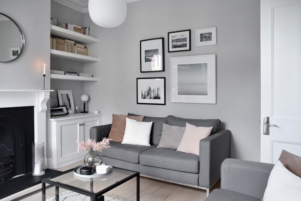 Therese Sennerholt Home : Relaxed elegance from h m home these four walls