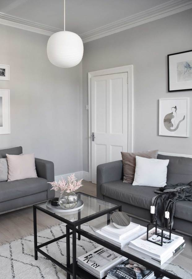 My soft, minimalist living-room makeover | The reveal ...
