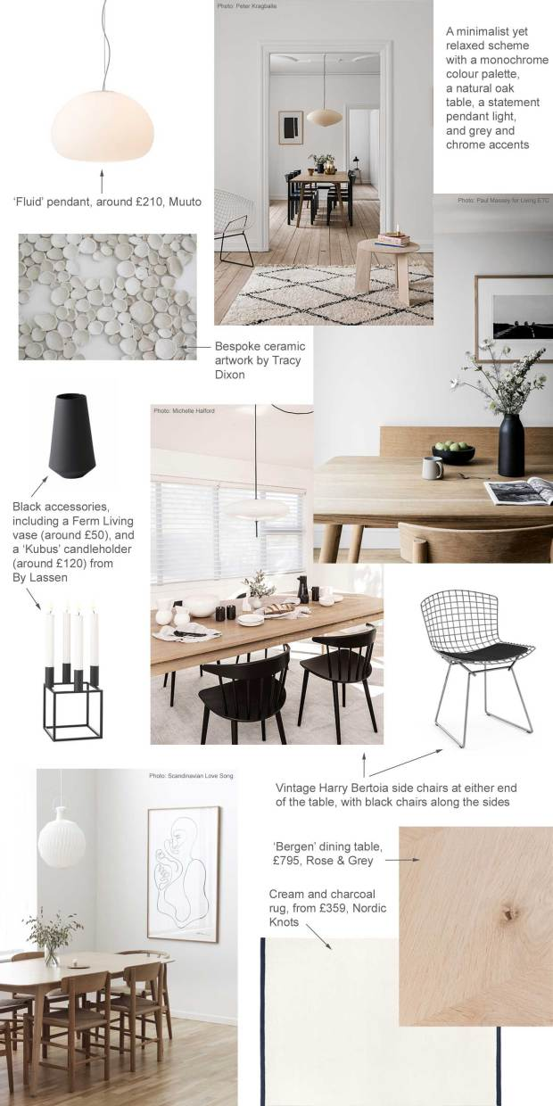 My Minimalist Yet Warm Dining Room Makeover