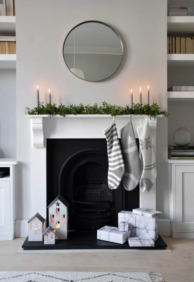 Simple, Scandinavian-inspired Christmas decorations (+ giveaway!) with Cox & Cox | These Four Walls blog