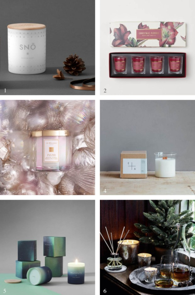 Best Christmas Candles 2018.The Best Scented Candles For Christmas These Four Walls