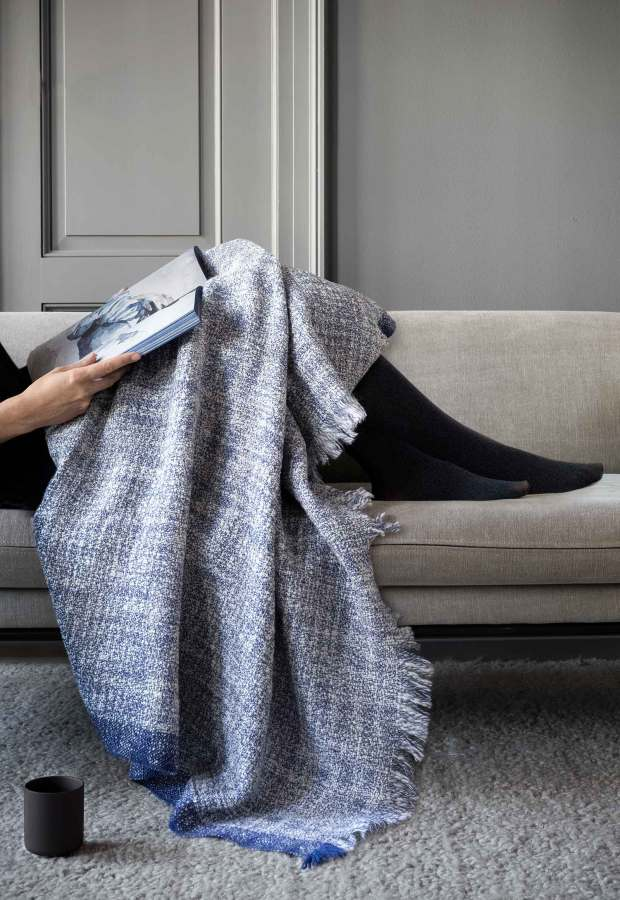 Ferm Living's 'Enfold' - a blanket in aid of a good cause | These Four Walls blog