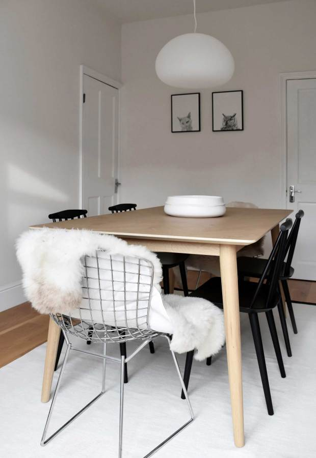 My minimalist yet warm dining-room makeover | These Four Walls blog