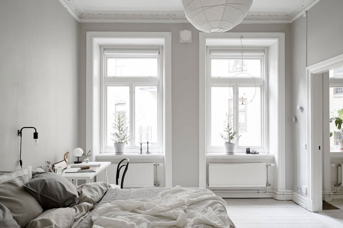 Home Tour A Pale Grey Apartment In Gothenburg These Four Walls