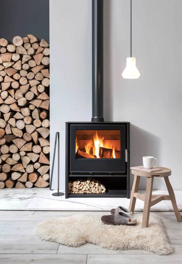 A guide to choosing and installing a wood-burning stove | These Four Walls blog