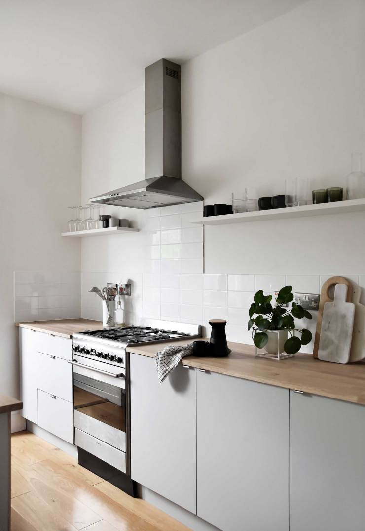 A minimalist kitchen makeover on a budget | The reveal ...