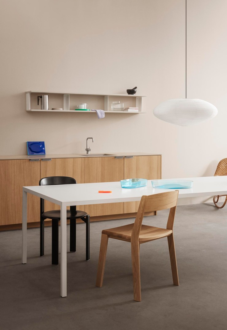 Stylish IKEA kitchen customised with minimalist oak fronts and open shelves from Reform's 'UNIT' collection | New finds - July 2021 | These Four Walls blog