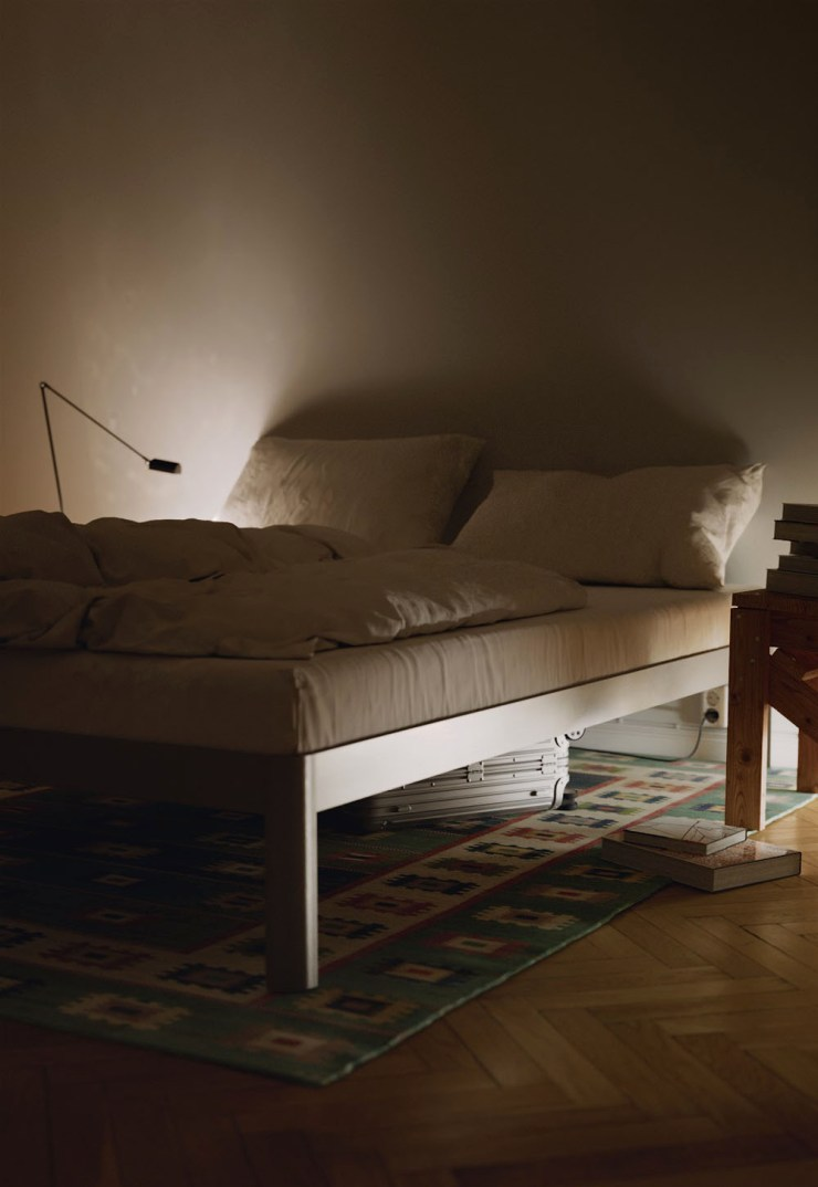 Minimalist flat-packed bed from new Danish design brand ReFramed | These Four Walls blog