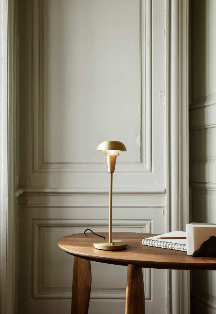 'Tiny' - a sleek, minimalist table lamp designed for small spaces | The autumn-winter 2021 collection from Ferm Living | These Four Walls blog