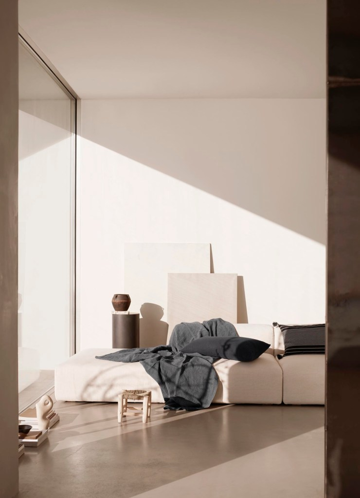 Soft minimalism from Tine K Home's latest collection