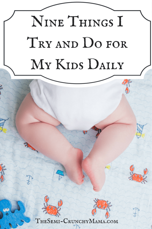 Nine Things I Do For my Kids Pin
