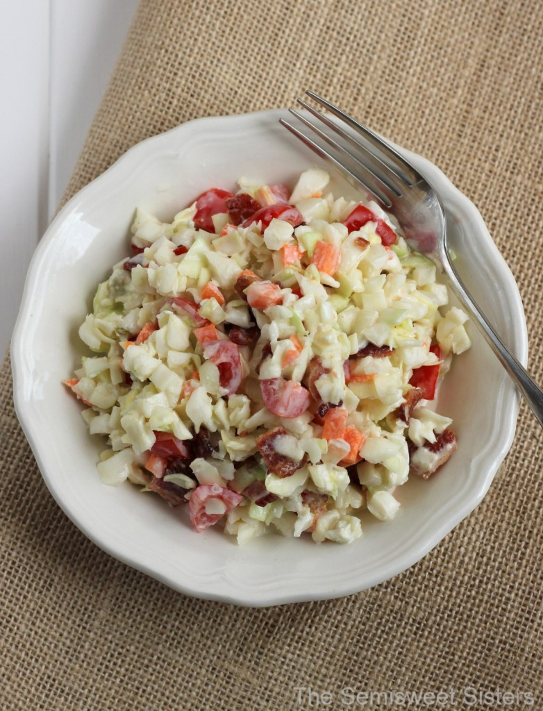 Bacon Blue Cheese Coleslaw Recipe