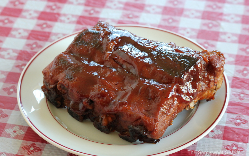 Easy Baby Back Ribs BBQ Oven Baked