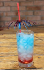 Red, White, and Blue Layered 4th of July Drinks