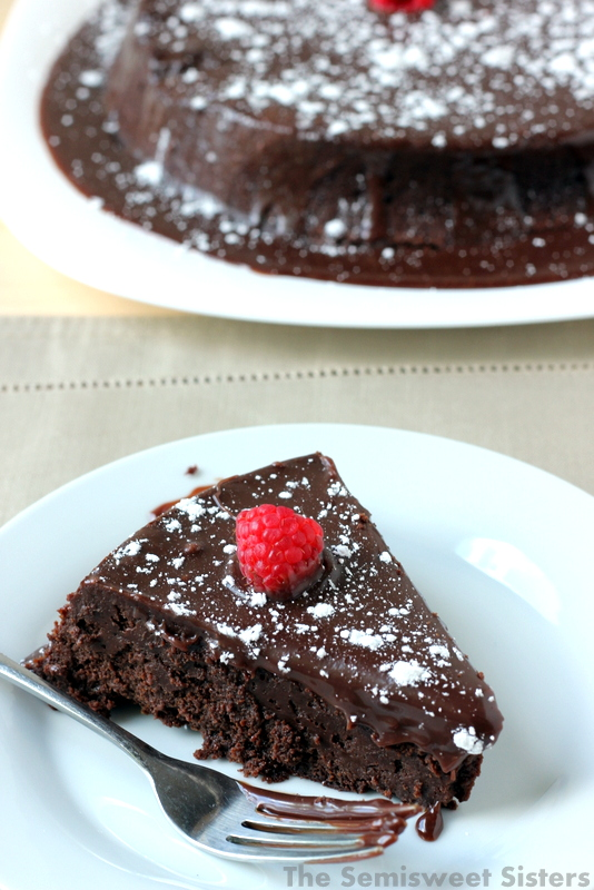Flourless Chocolate Truffle Cake Recipe (Naturally Gluten Free)