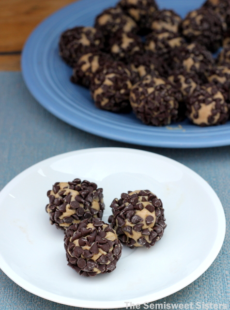 Porcupine Chocolate Chip Peanut Butter Balls