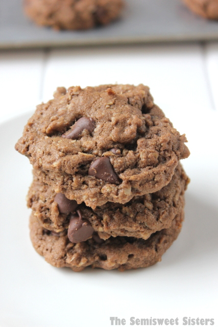 Double Chocolate Chip Oatmeal Cookie Recipe