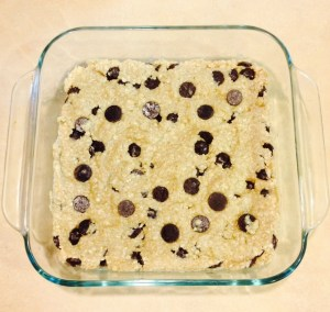 Chocolate Chip Oatmeal Bar Cookies