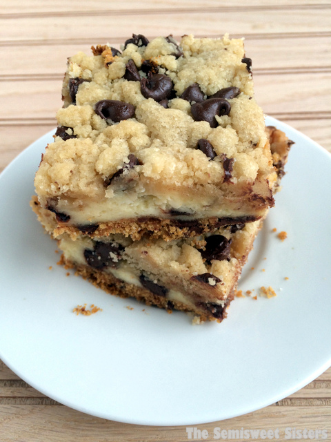 Chocolate Chip Cookie Cheesecake Bars Recipe