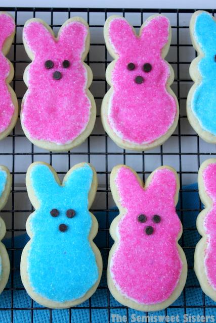 Peeps Bunny Easter Sugar Cookies