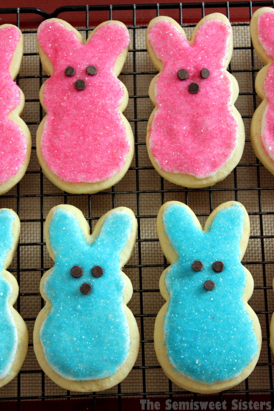 PEEPS Sugar Cookies for Easter