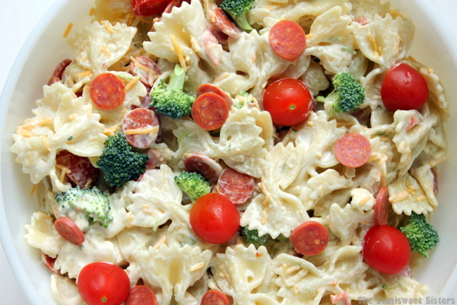 Aunt Janie's Creamy Pasta Salad Recipe