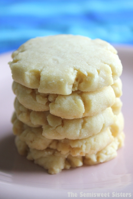 vanilla shortbread cookies 4 ingredients