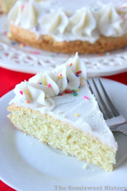 Giant Sugar Cookie Cake
