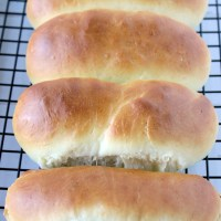 Homemade Hot Dog Buns