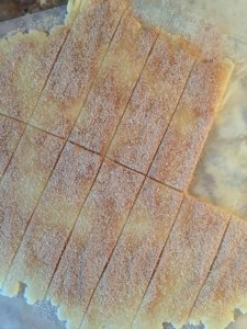 Cinnamon & Sugar Pie Crust Cookie Strips