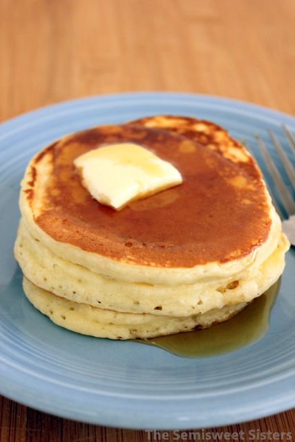 Fluffy Dairy Free Pancakes