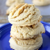 Old Fashioned Soft Honey Cookies