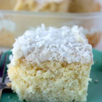 Coconut Cake Dairy Free (with Coconut Milk)