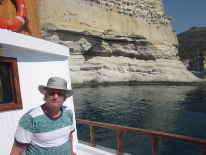 There is peace -- and cicadas -- in stunning Milos, Greece.
