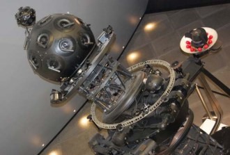 The Dow Planetarium's projector is a museum piece in the Rio Tinto Alcan Planetarium. (Photo by Hayley Juhl)