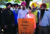 """Sikhs fought in two world wars with the French and English and sacrificed their lives. If Sikhs could lose their lives then, wearing turbans, why not now? The PQ is trying to show the fanatics that they are crushing minorities to get votes. I would not work for the government if I had to take off my turban. Since the charter, I have encountered some anti-immigrant behaviour I did not see before."" ~ Narinder Singh Minhas (left), a trucker"
