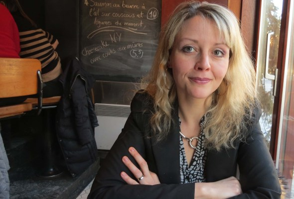 Scholar Chantal Ringuet has immersed herself in Yiddish Montreal. (Photo by Irwin Block)