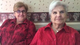 L-R: Daughter and mother volunteer team, Carole and Claudette