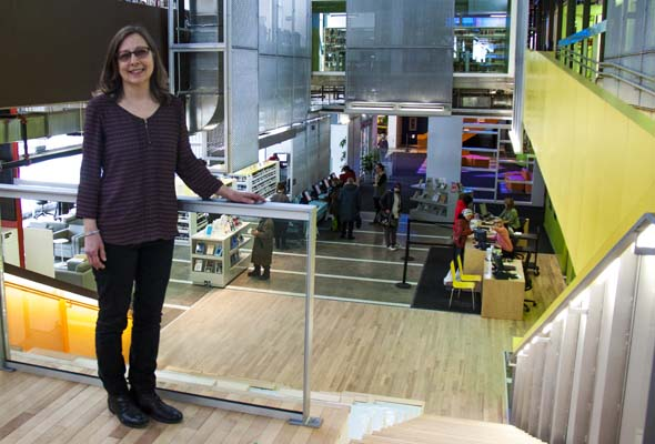 Lorraine Guay proudly shows off NDG's long awaited community space